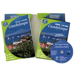 coffret cd-rom + guide pour bien preparer son voyage en guadeloupe