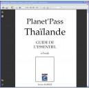 e-book Planet'pass Thaïlande - guide de l'essentiel - couverture