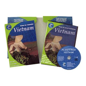 Coffret Cd-rom + guide pour bien preparer son voyage au vietnam