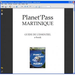 e-book Planet'pass Martinique - guide de l'essentiel