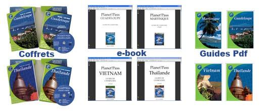 Tous les formats de guide de voyage