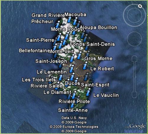 a voir martinique : carte et guide touristique pour votre voyage